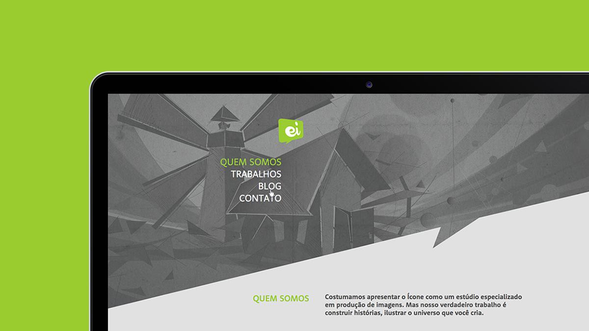 estudio icone Website paralax creative website portfolio Rio de Janeiro Brazil