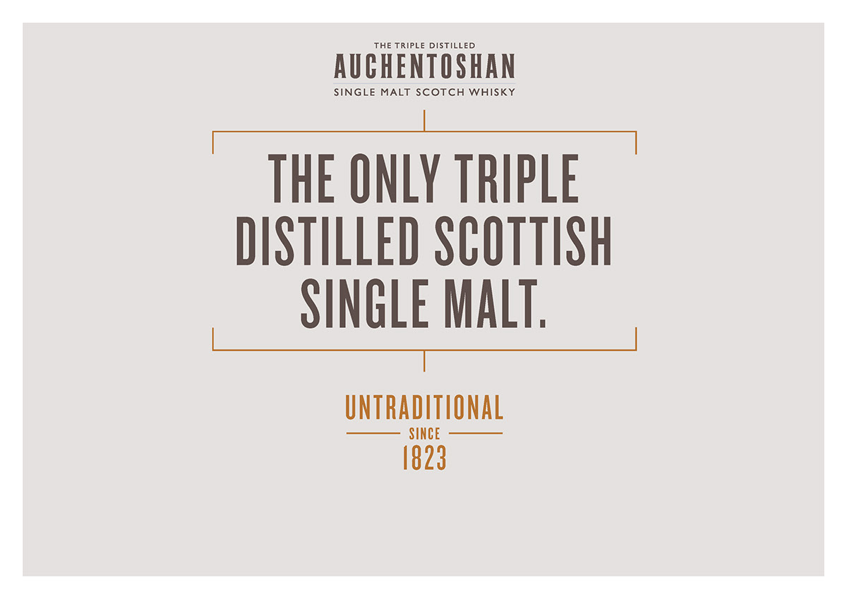 Auchentoshan - Untraditional Since 1823 on Behance