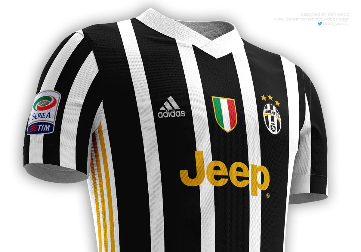 info for b82b3 de2d5 Juventus FC Kit Designs 16/17 on Behance