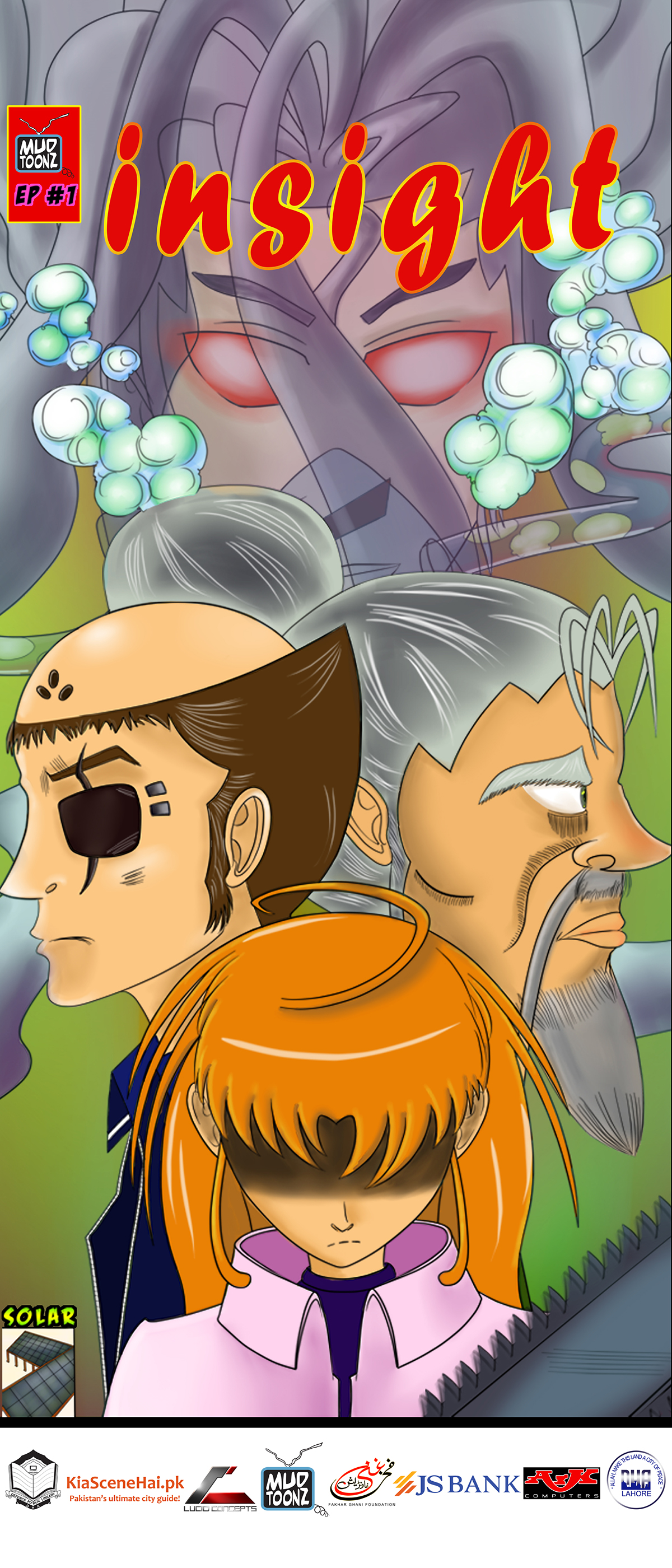 Comics manga anime pakistani art cartoon pakistan animation comic book page pakistan the acursed necklace pendant KODA MUDTOONZ Central Gitto Death Grave Walker Spider shakil uncle butt sgb shakil butt CCPK 2014 Comic Con Pk 2014 comicconpk