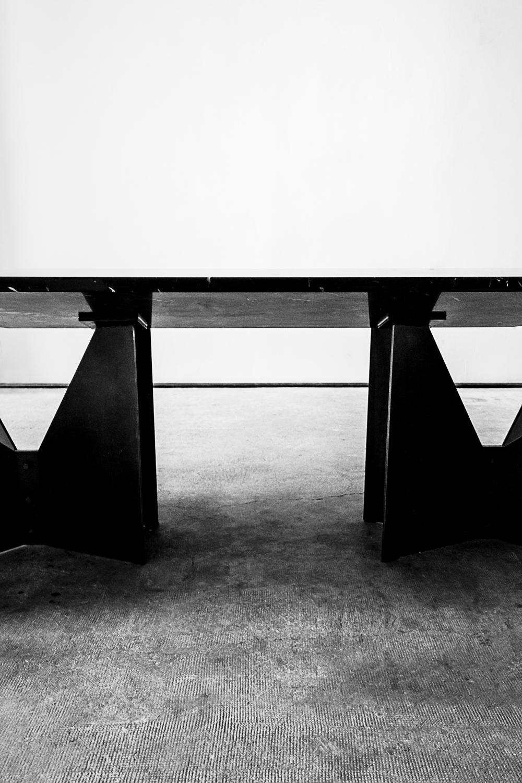 Dario Ruggiero SOME/THINGS S/TUDIO KUNDAG DOUMAN POURNOIR design table Marble black and white