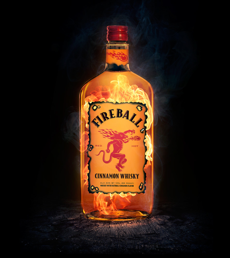 Fireball Cinnamon Whisky on Behance