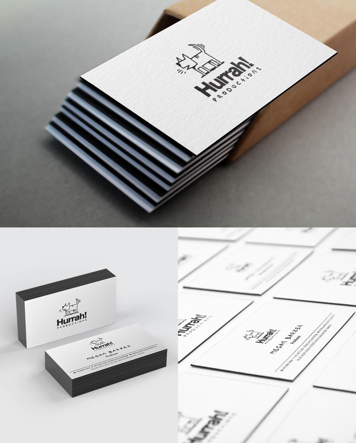 businesscard letterpress cotton materal hurrah! hurrah Production singapore black blackcard blackedgecard blackedge premium namecard
