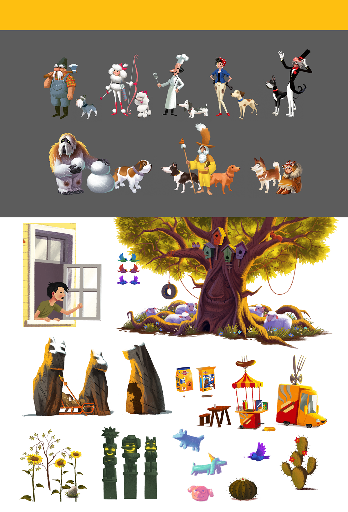 a dogs story pedigree app dog educational story interactive game characters childrens book