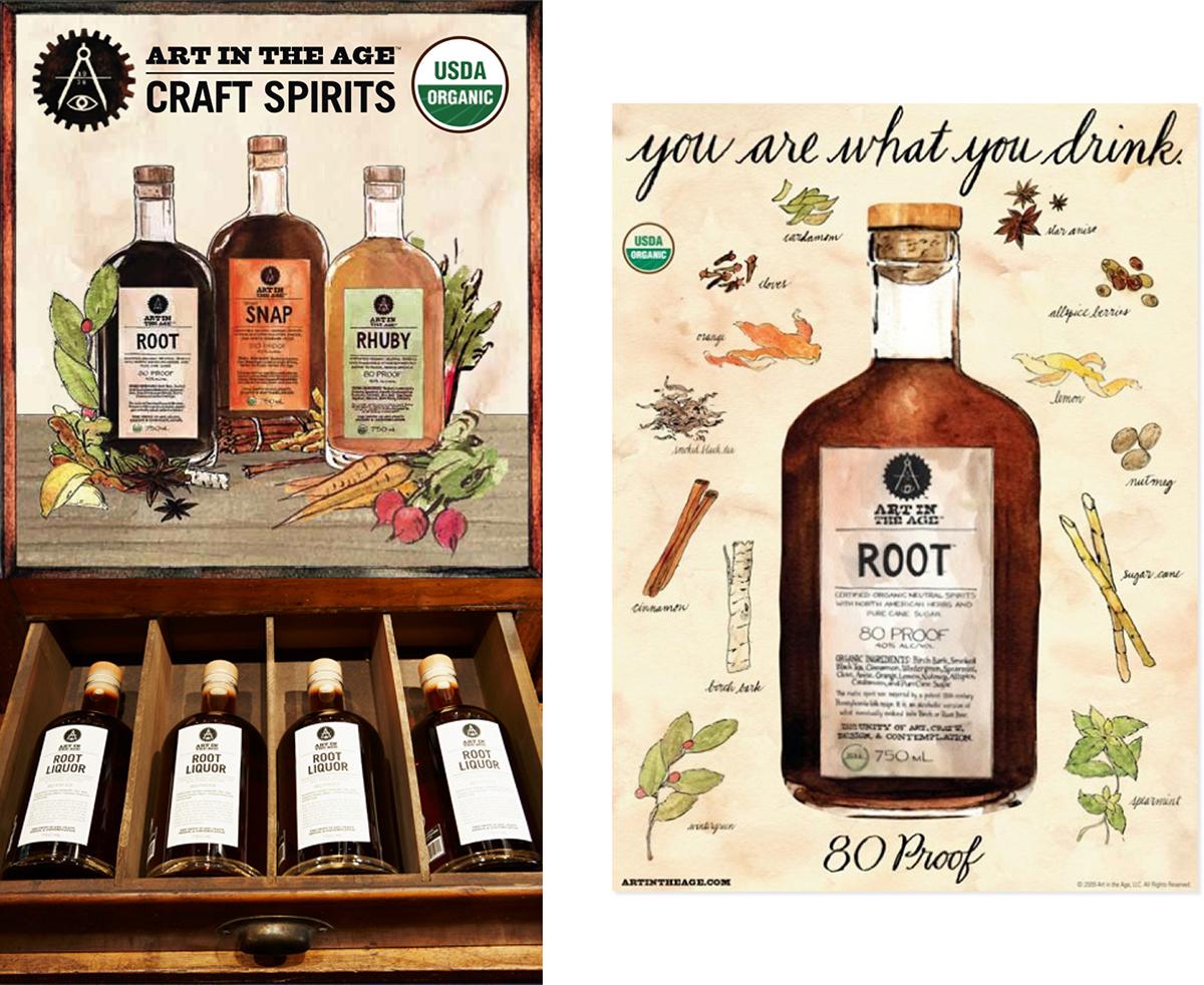 liquor alcohol Spirits artisan organic root philadelphia lifestyle