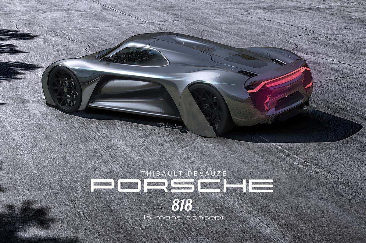 Porschaliscious Le Mans Concept On Behance