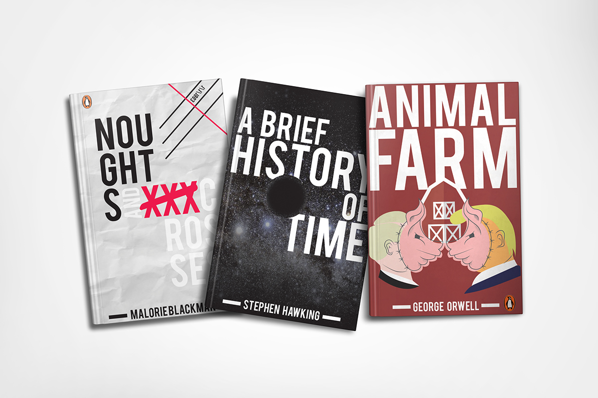 Penguin Book Cover Contest On Behance