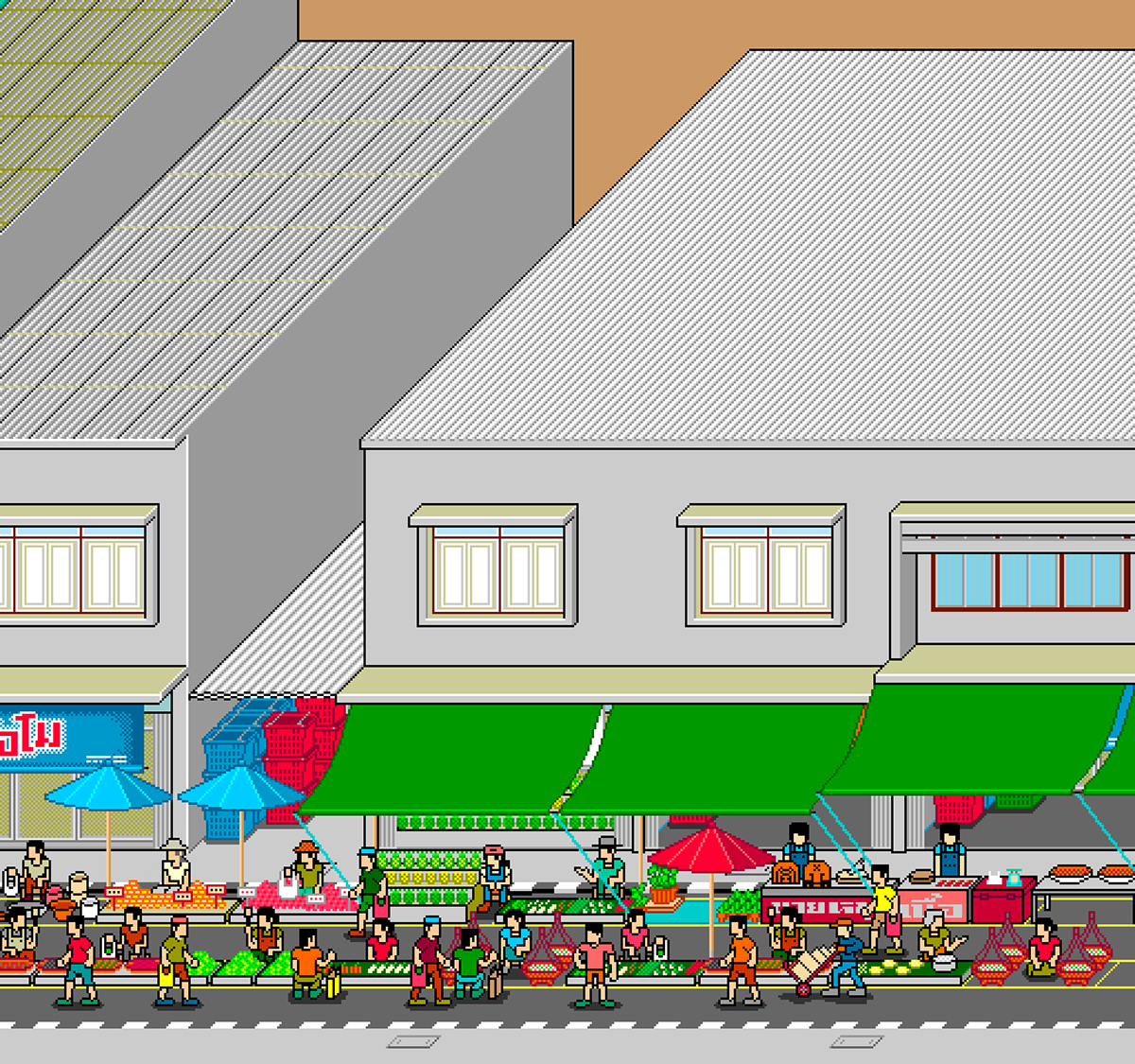 Image may contain: house, screenshot and cartoon