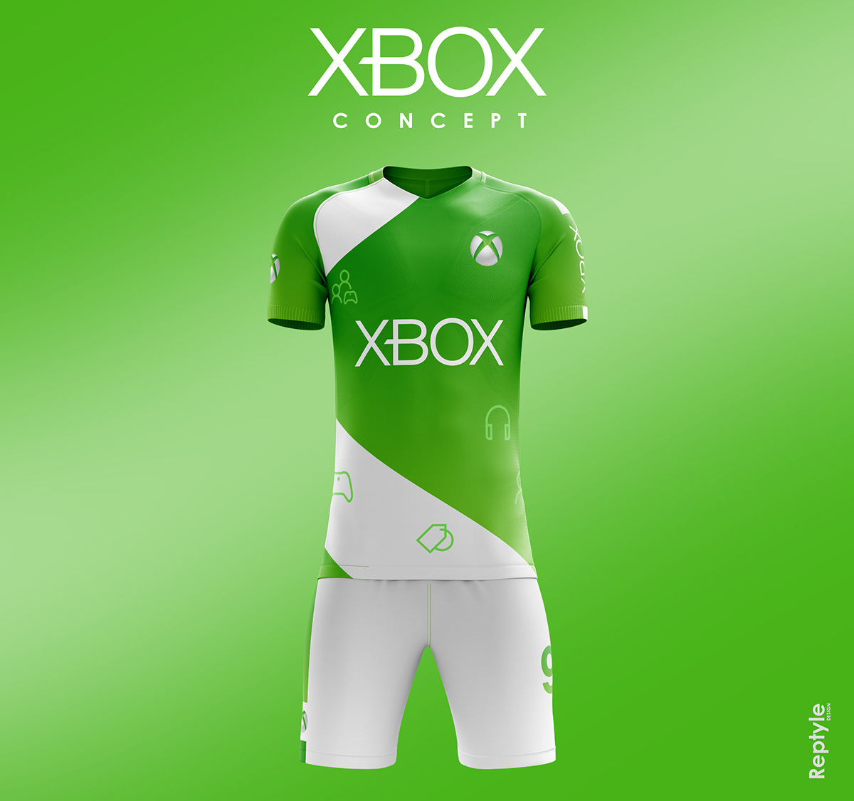 Xbox soccer kit concept. Maurizio Moretti •. Follow Following Unfollow. Save  to Collection 8e2480877