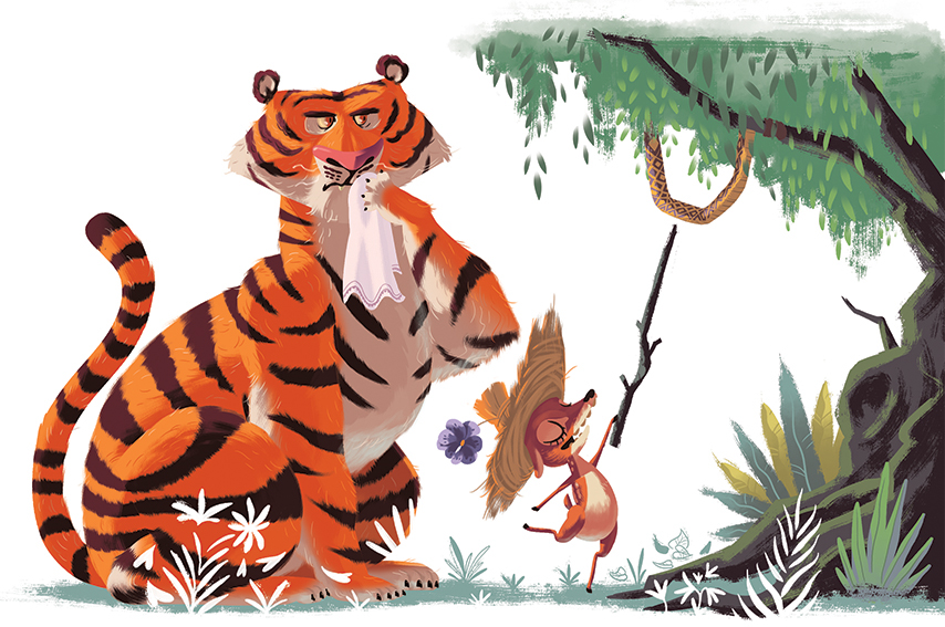 the tiger and deer by aurobindo ghosh Green parrots in a cage -gopi gauba gopi the tiger and the deer tight corners amitav ghosh (1) amity and sorrow (1.