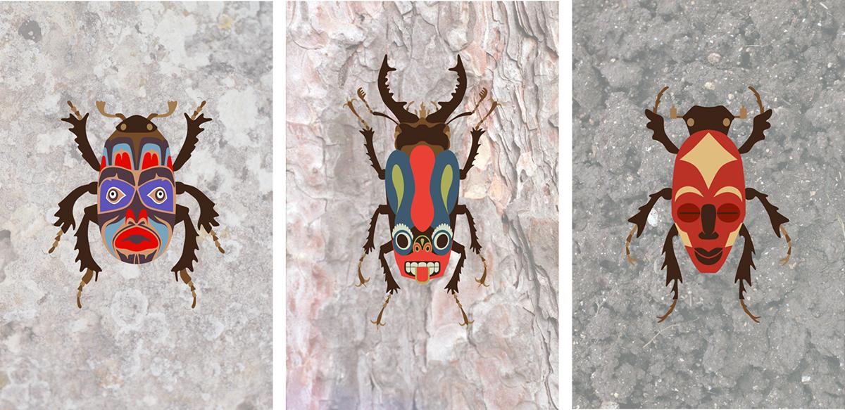 bug beetle mask