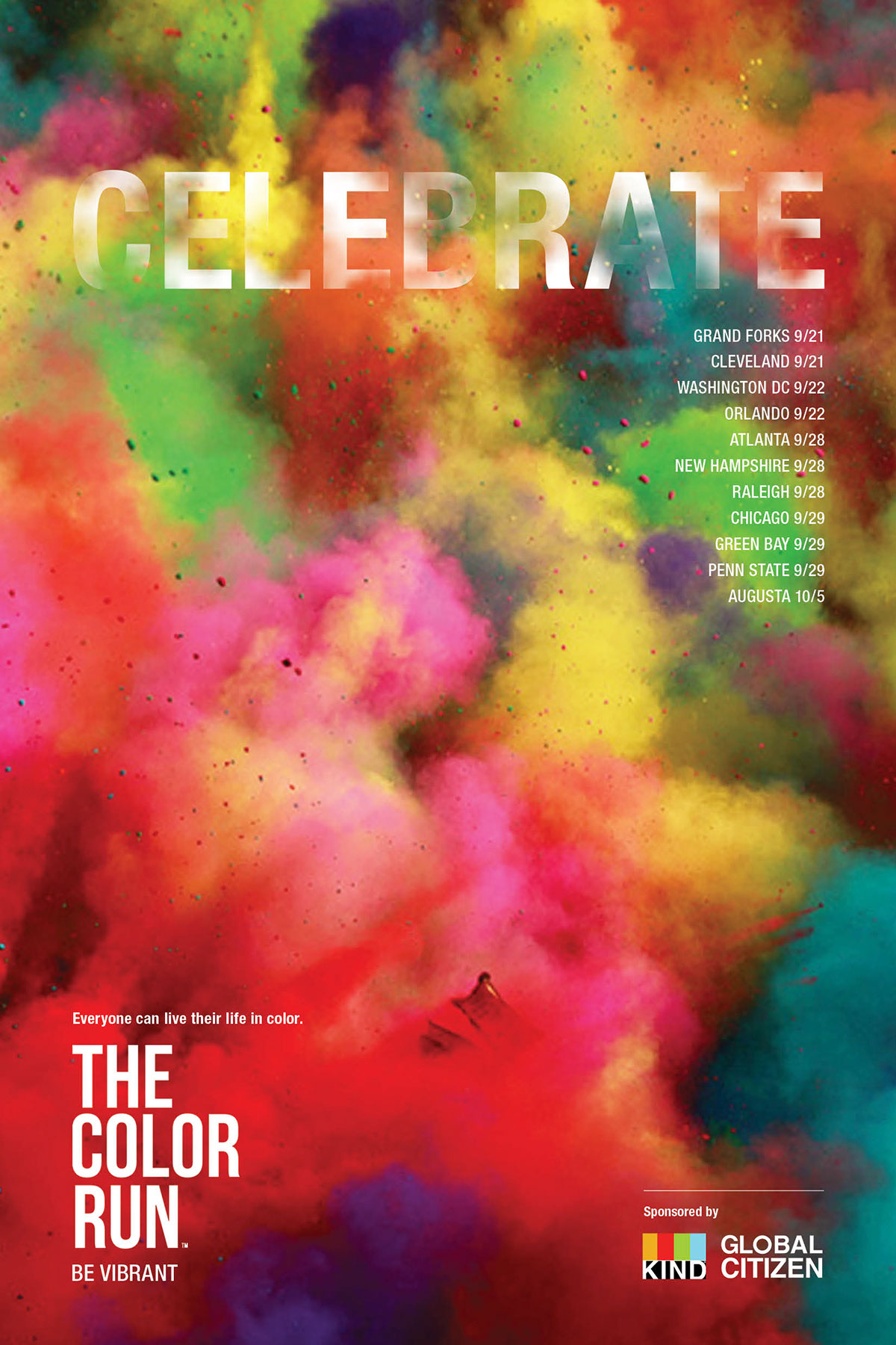 The color run ads on behance publicscrutiny Images