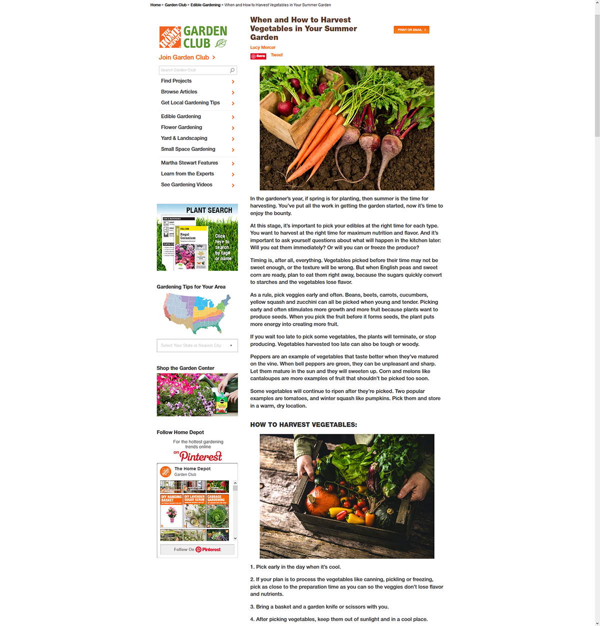 The Home Depot Gc And Diy Web Redesign Photo Retouching On