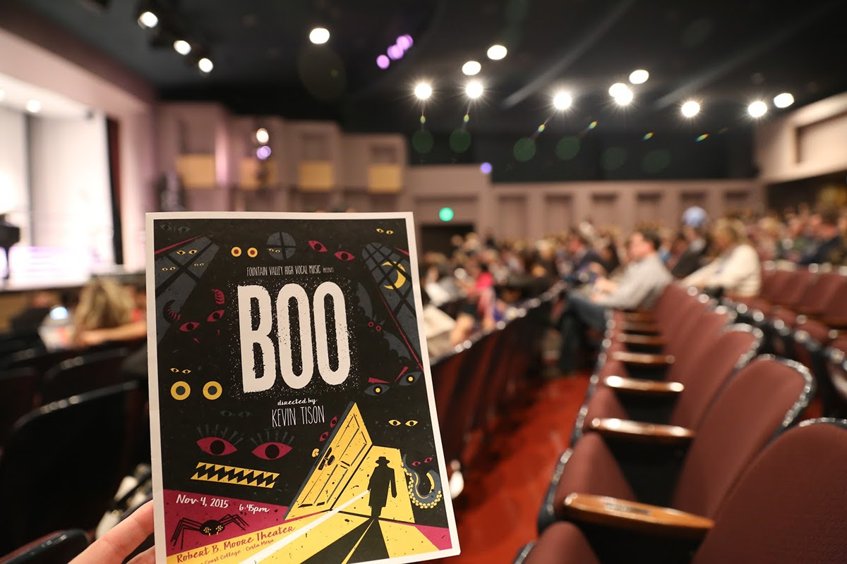 BOO for Fountain Valley High Vocal Music on Behance