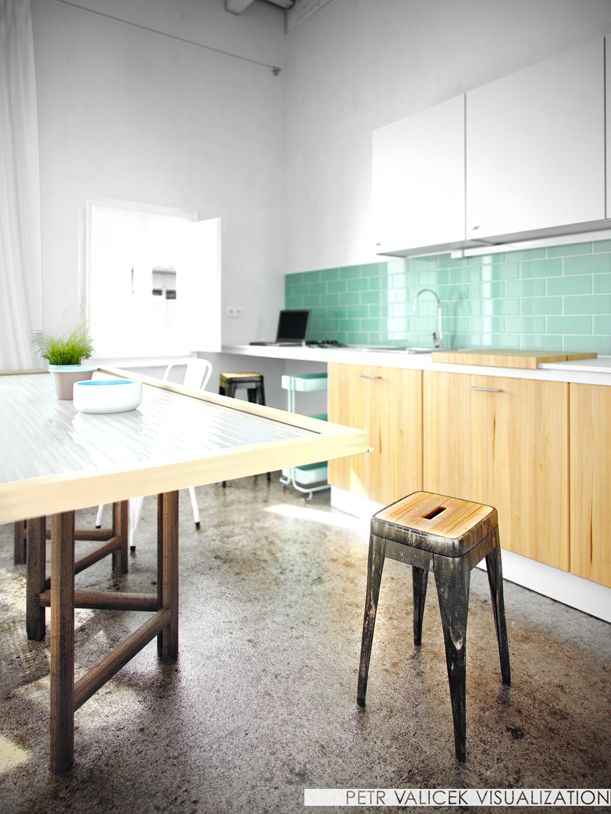 Nook Architects Twin House Interior