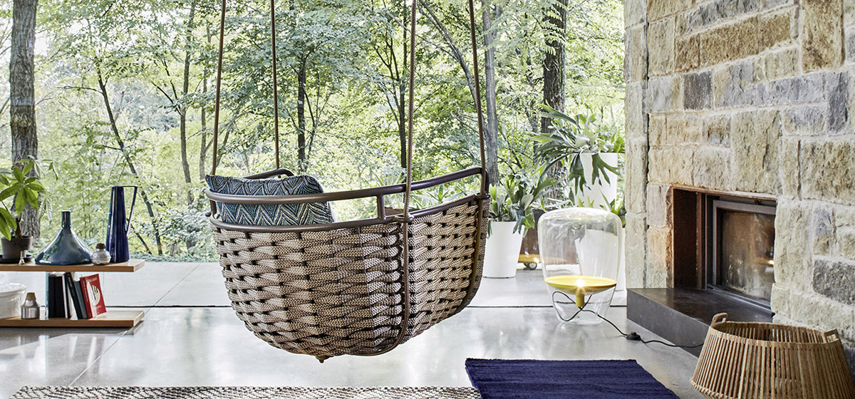 outdoorfurniture mobiliarioexterior daybed swing chair table silla mesa columpio weaving
