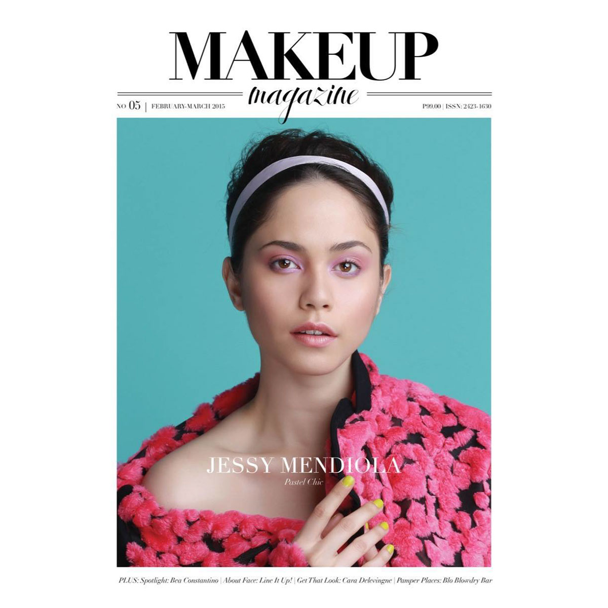 Magazine Cover Photo For