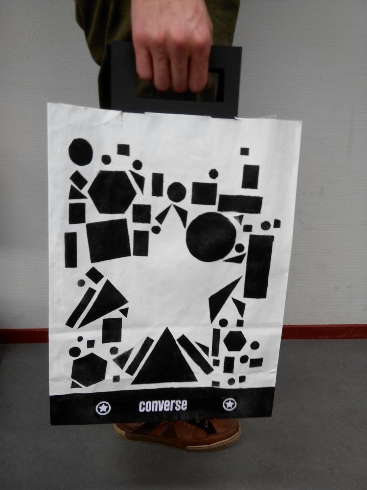 paperbag converse Cibap