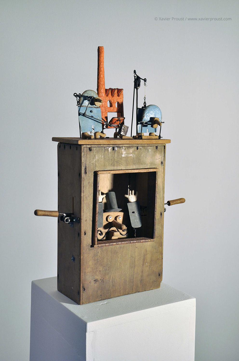 xavier proust sculptor sculpture kinetic automata