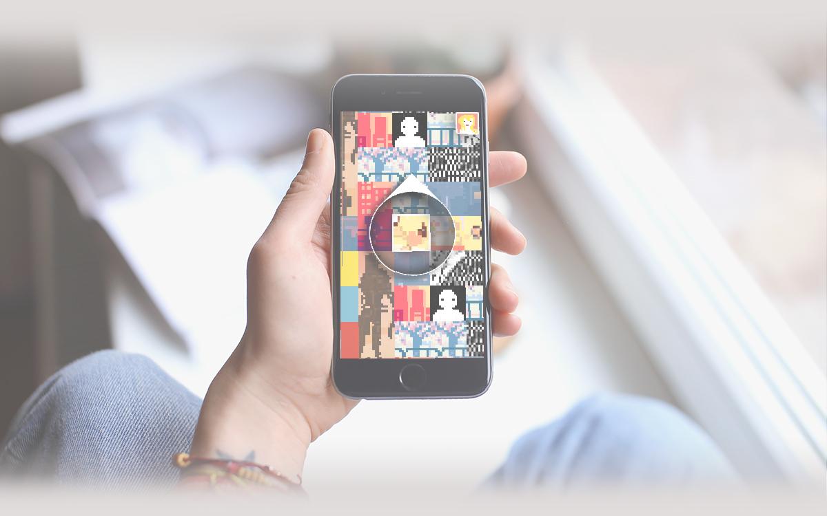 colour mobile game game design  app ios