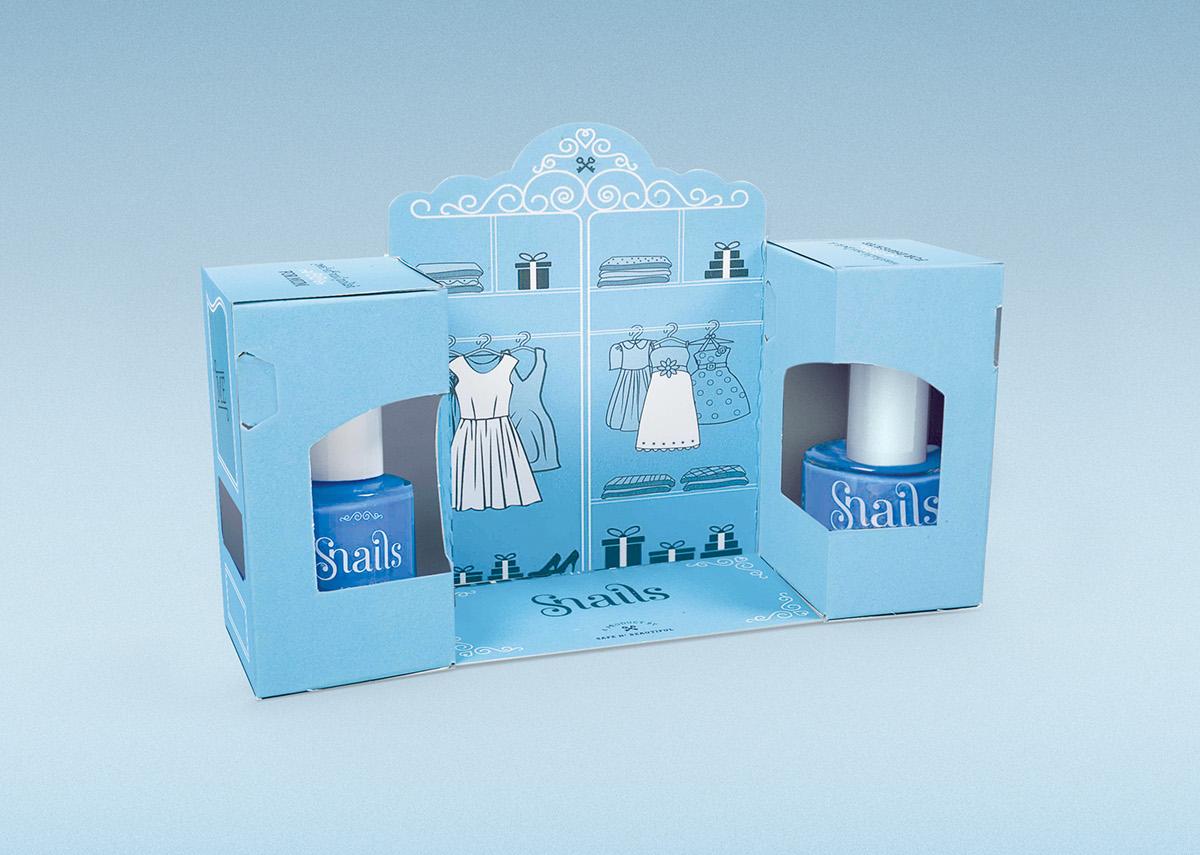 nail polish snails safe nails gift pack closet beauty Mum DAUGHTER