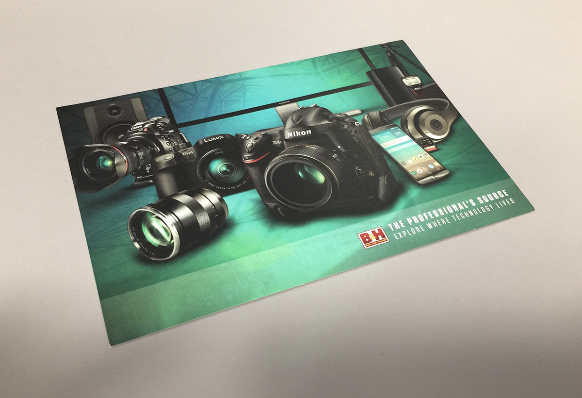 postcard retouch photo equipment