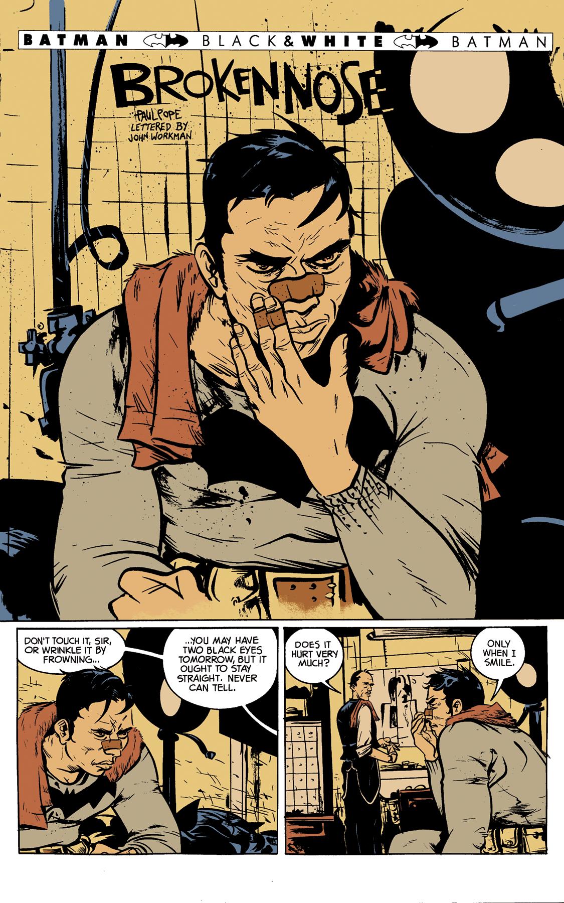Comic Book Color Samples - Paul Pope\'s \