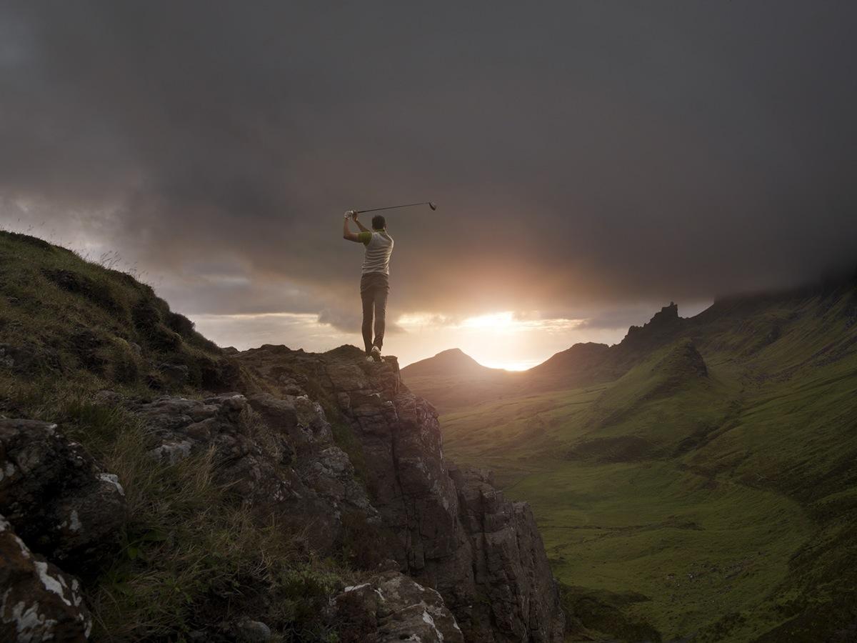 golf  landscape Photography   scotland sport davidboni