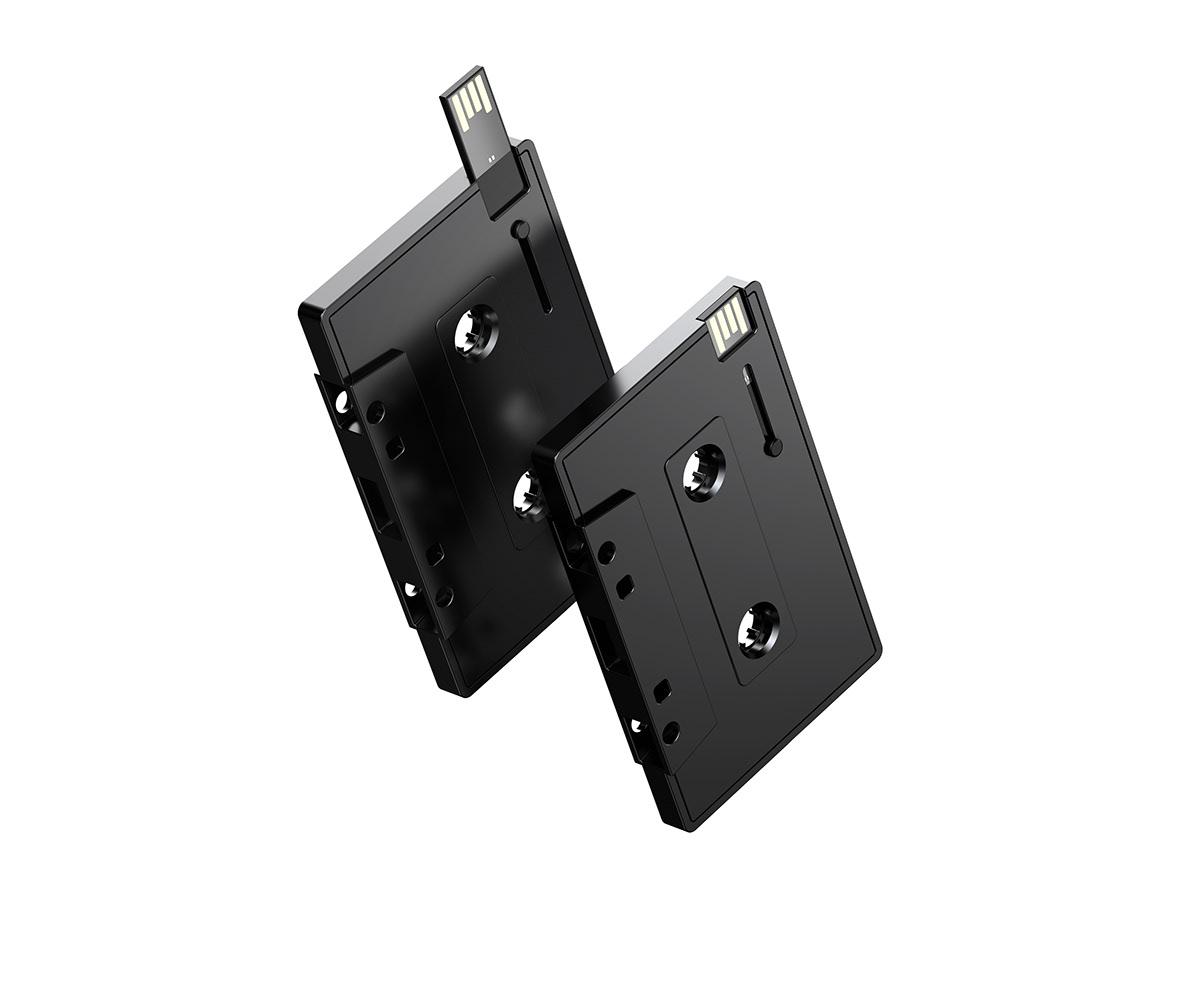 Adobe Portfolio cassette player Audio pal concept design inspired design trend earphone tape DAWN