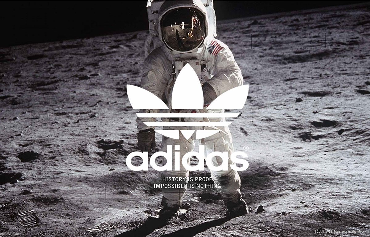 Adidas: History is proof on Behance