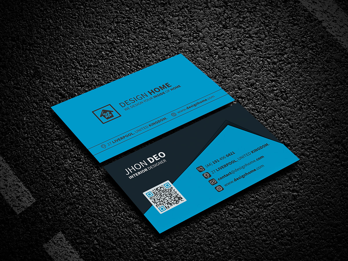 Creative business card freebie on wacom gallery download link here reheart Image collections