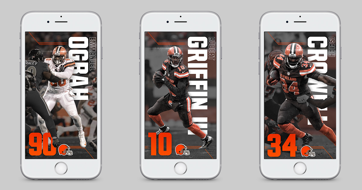 Cleveland Browns Iphone Wallpapers On Behance