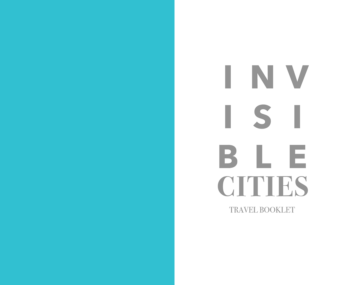 Invisible Cities: Travel Booklet' | Type Specimen Book on
