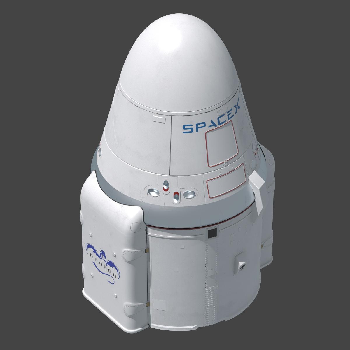 dragon spacecraft models - HD1200×1200