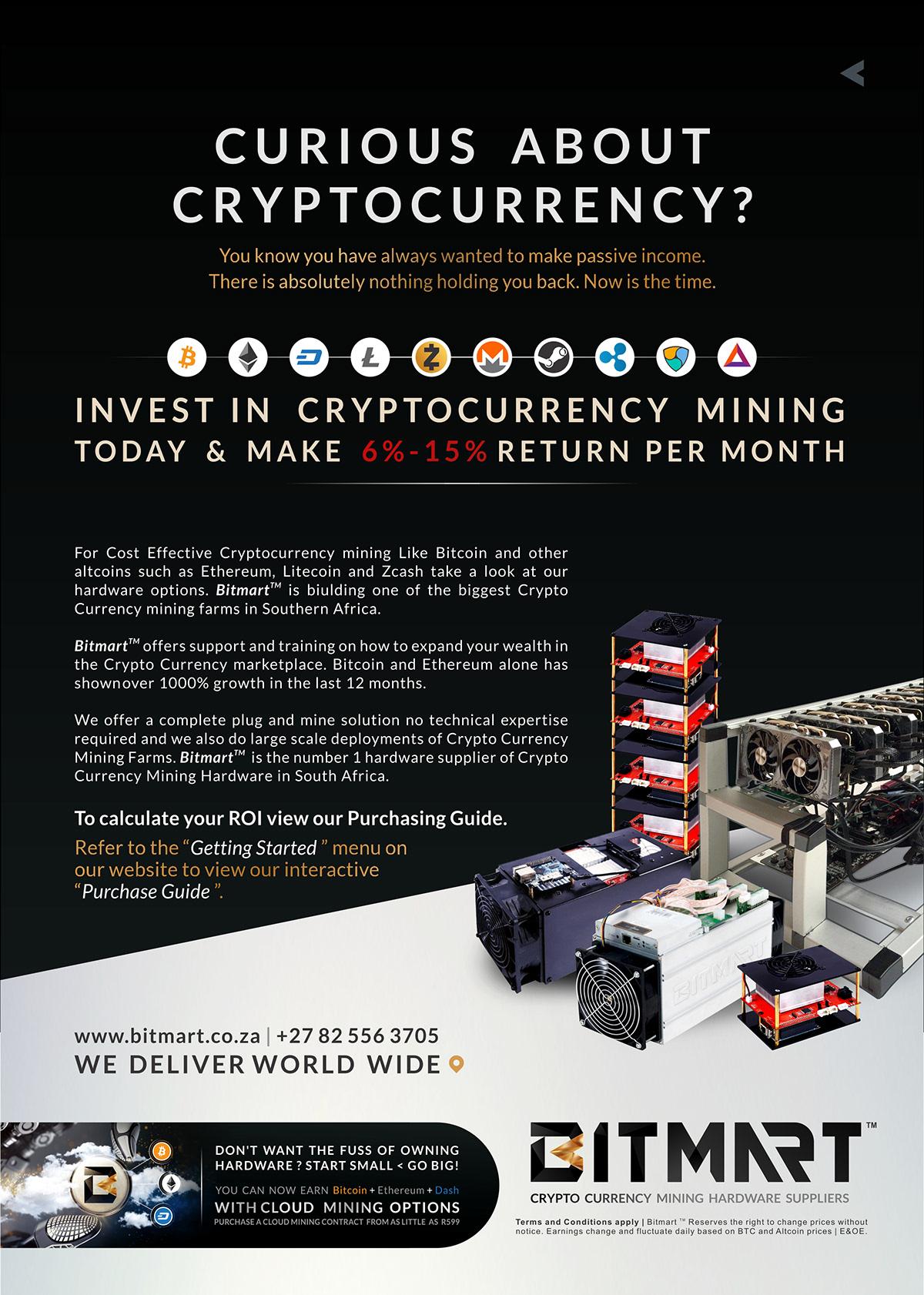 Bitmart | Crypto Currency Mining Hardware on Behance