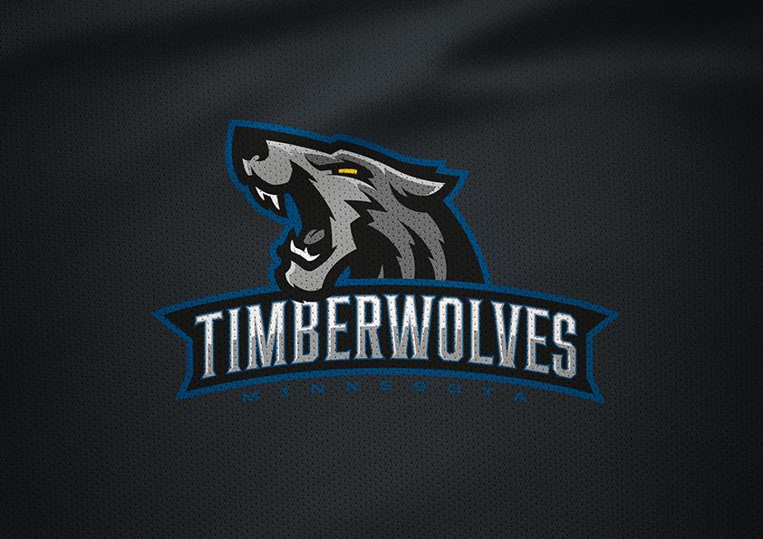 Minnesota Timberwolves Rebrand Concept on Behance