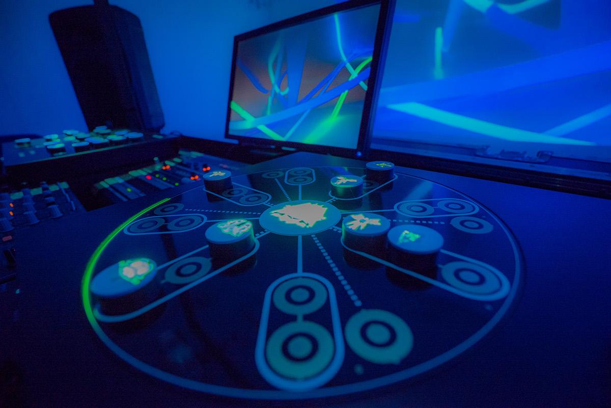 Adobe Portfolio dj VJ projection Mapping instrument Audio visual