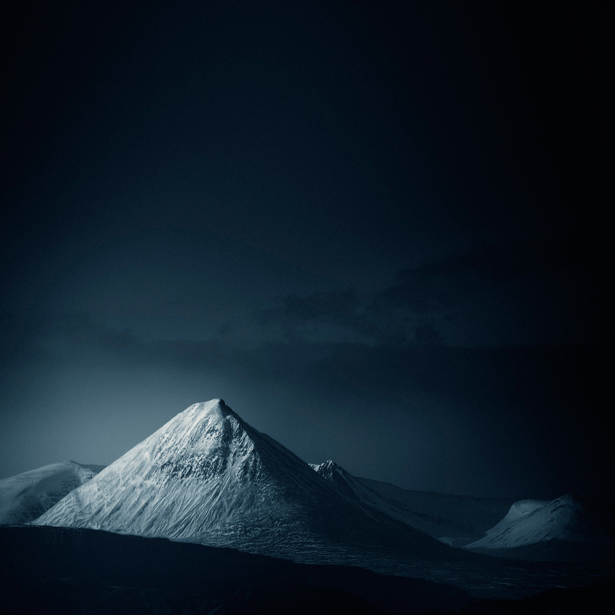 infrared IR Faux Colour iceland mountains mood