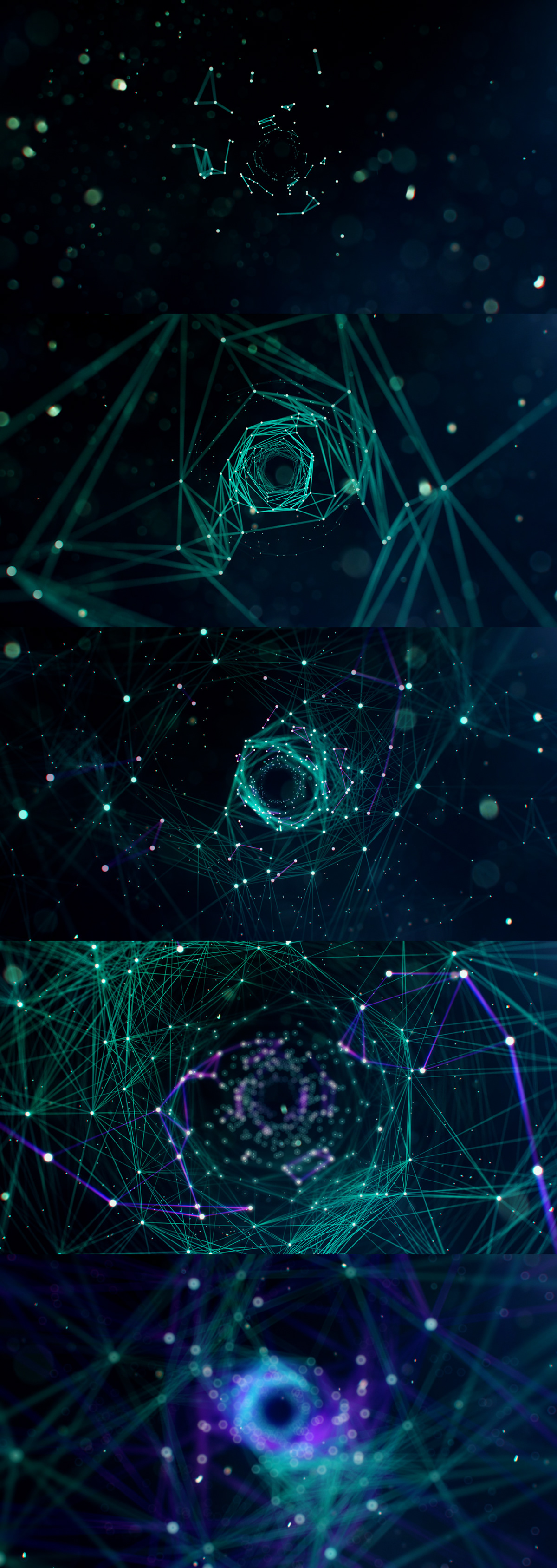 motion design particle Trapcode x-particles cinema4d after effects octane cyan Particular