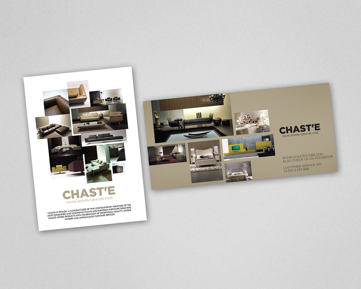 chast'e furniture store on behance -  point for modern living online shopping in egypt and the premieredestination for the finest collection of modern furniture and contemporaryfurnishing