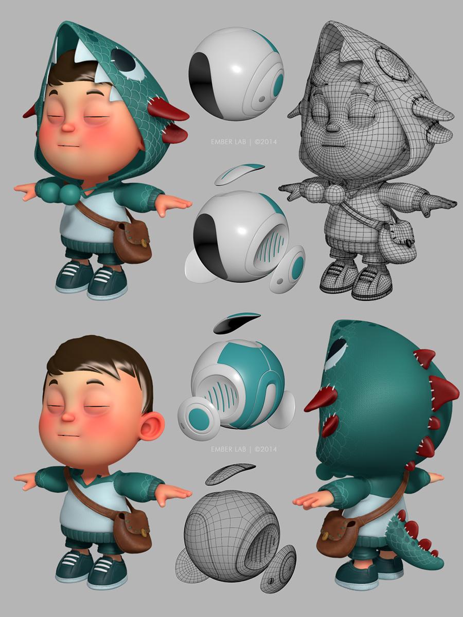 3d Character Design Behance : Carlos ortega elizalde cg artist