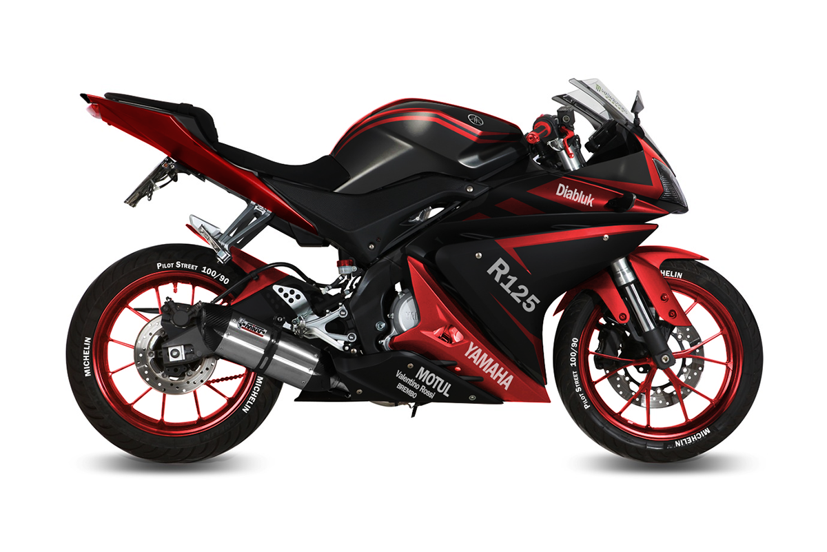 Yamaha Yzf R125 Decal Project On Behance