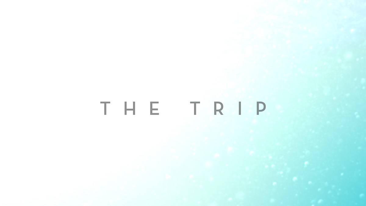 the trip title animation end credit movie title