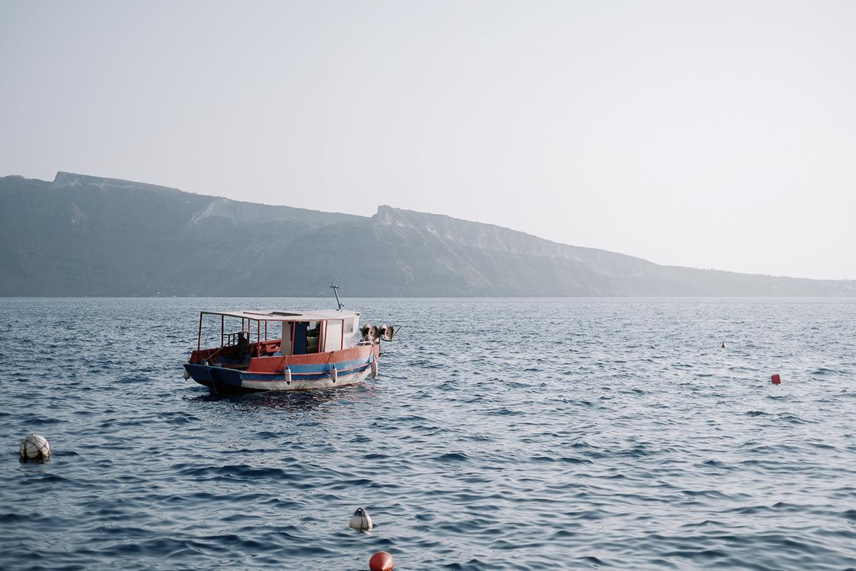 Greece Landscape blue Island sea