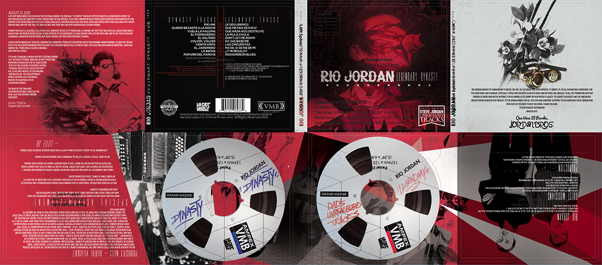 RIO JORDAN ALBUM ARTWORK on Behance