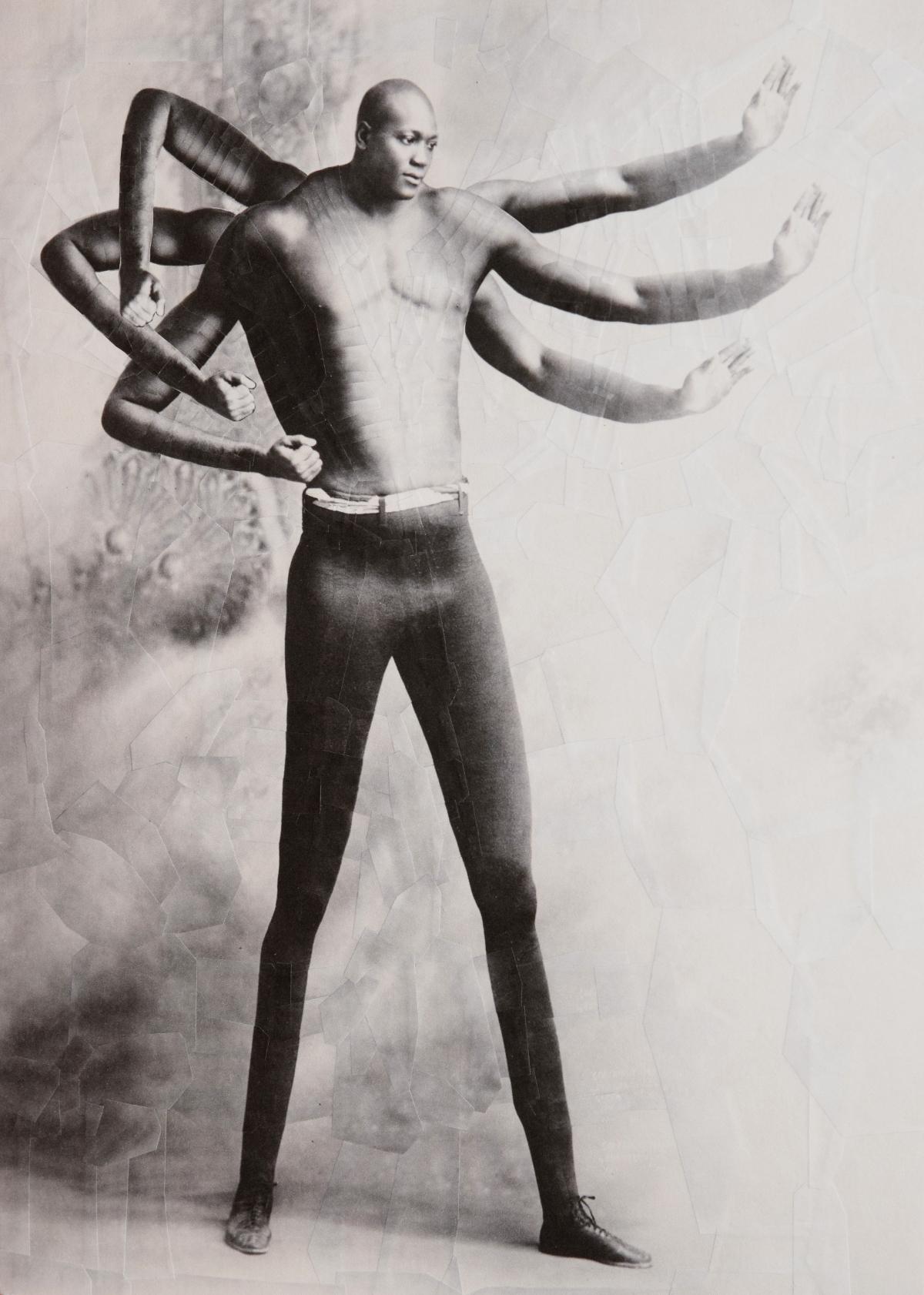 bodies human collage manipulation warped