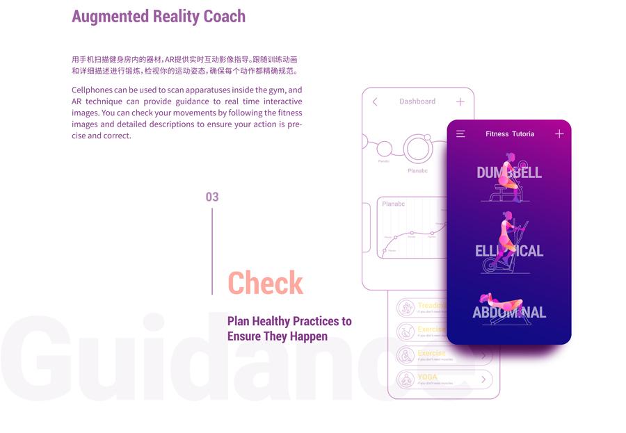 fttness app UI ux sport calorie animation  run Data