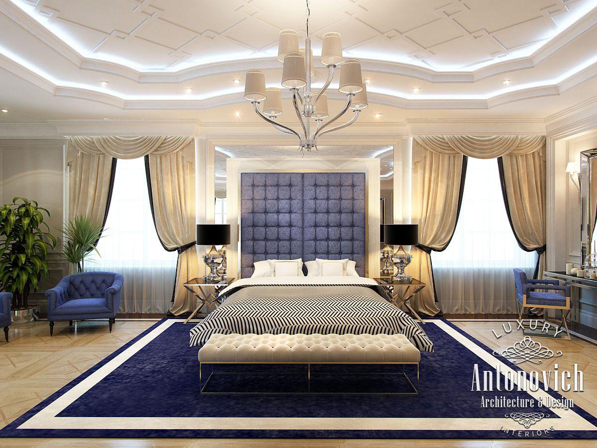 fancy deluxe college apartment bedroom trend decorating ideas   Master bedroom from Antonovich Design on Behance