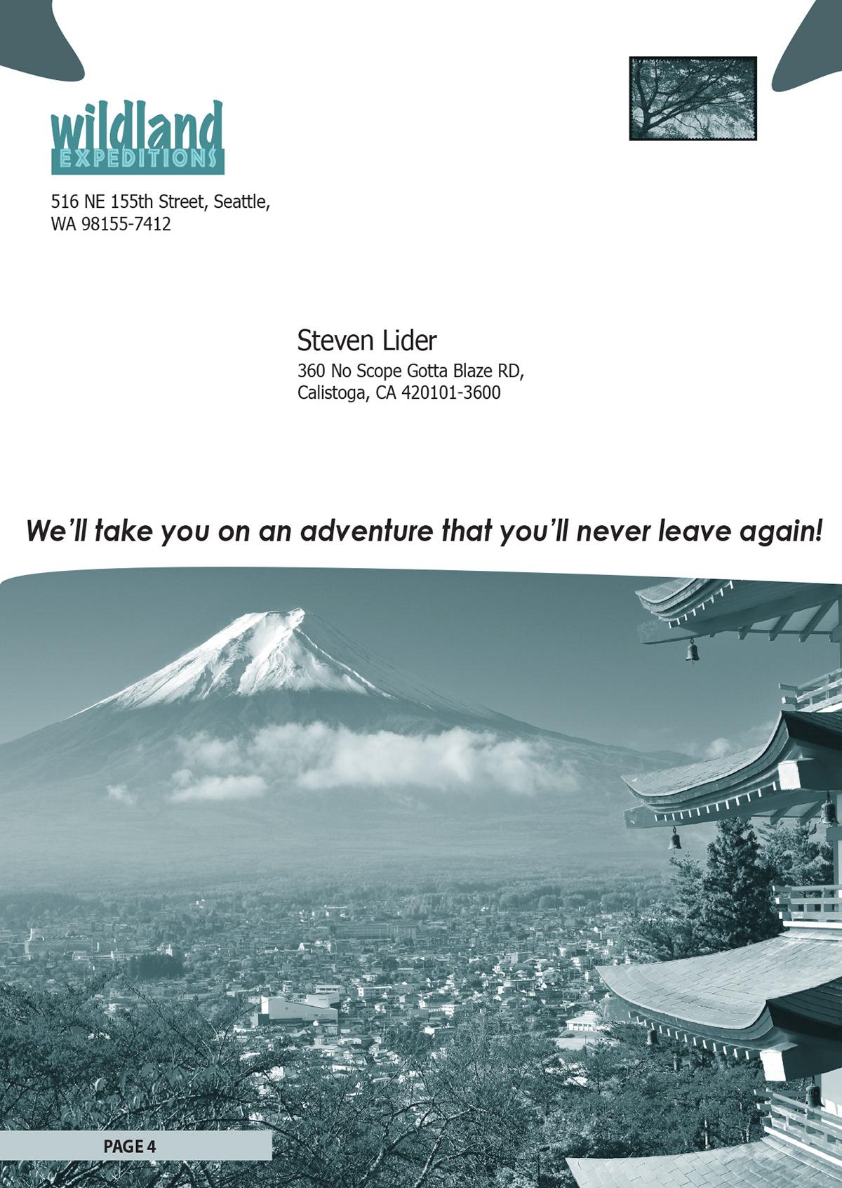 Japan Travel Brochure Project on Behance