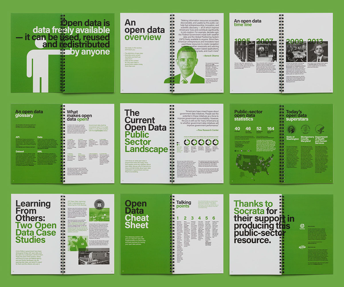 grid Washington gov Government color Guide usa annual report Brutalism swiss
